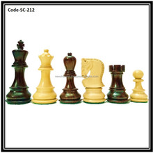 Russian Zagreb Rose wood Staunton Chess Set SC212