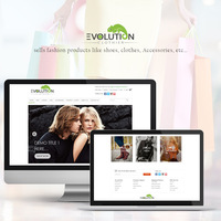 Evolution - eCommerce Website Development in Wordpress