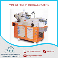 New Arrival Mini Offset Printing Machine Available at Competitive Rate