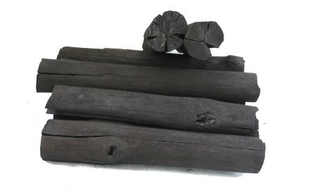 Natural hardwood charcoal for hookah shisha with low and white ash