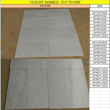 Vietnamese polished White/milky Marble for wall , cheap price, natural stone