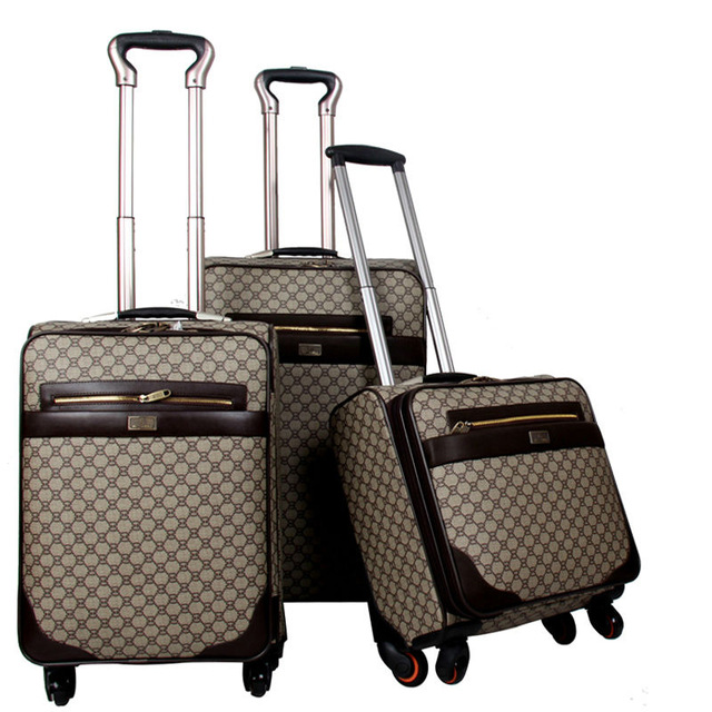3 Piece set trolley bag