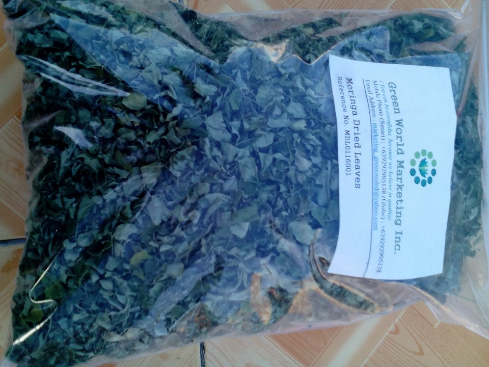 "Moringa Dried Leaves ""Oliferia"""