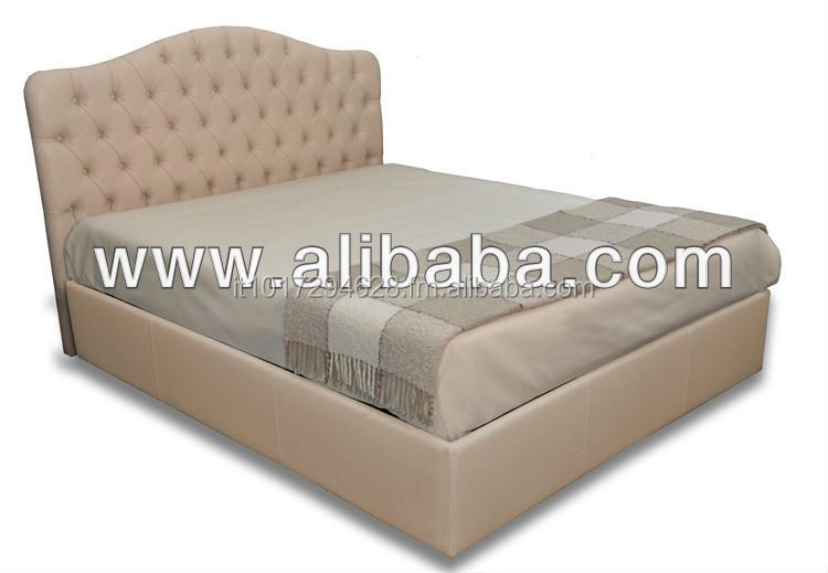 Padded bed CAPITONNE' CLASSIC made in Italy high quality