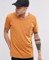 Custom Plain Camo Print Pocket T Shirt Long Sleeves Wholesale Men Camo T-shirt