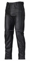 Black Motorcycle Leather pants