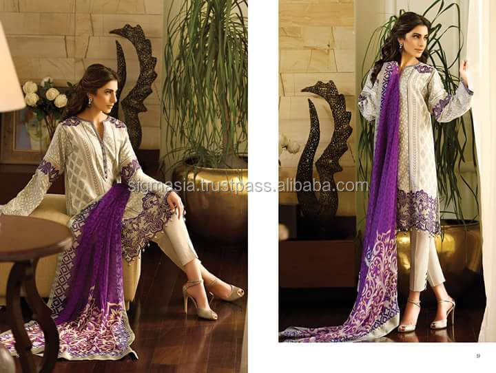 DESIGNER PAKISTANI LADIES LAWN N COTTON SUITS