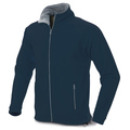 FLEECE JACKET:- LADIES HIGH COLLAR ZIP UP CVC FLEECE JACKET