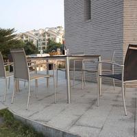 Stainless Steel outdoor recumbent Chair garden office furniture