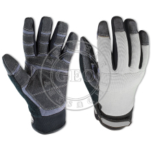 Heavy Duty Safety Gloves / Pakistan Manufacturer 2017/ Industrial Safety Mechanics Gloves