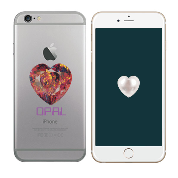 01531 For LG X-Cam/X screen/G-Flex2/Stylus2/Nexus 5X/Huawei X3/Y6_Heart Birthstone Jelly_Smart Cellular Mobile Phone Case Cover