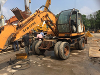 Used Samsung MW6-2 Wheel Excavator, sued Korea made wheel excavator (whatsapp:0086-15800802908)