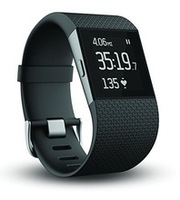 2016 Fitbit Surge Fitness Super Watch Activity Tracker Heart Rate Monitor Large Black(Bulk Order)