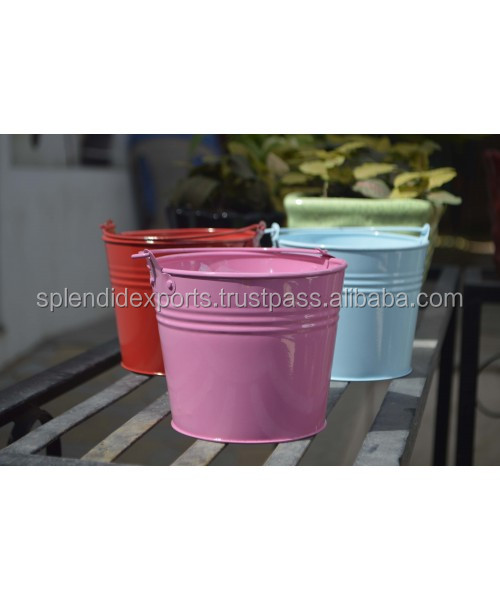 Unique Style Coloured garden planter