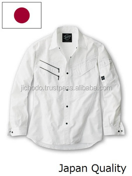 Work durable shirts with long sleeve ( spring and summer ). Made by Japan.