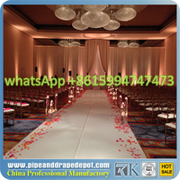 RK Hot sell pipe and drape systems, fashion used pipe and drape exhibition