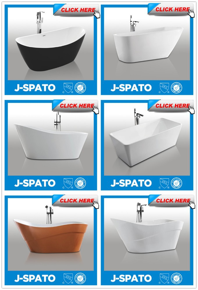 2019 China Factory Acrylic Freestanding Bathtub with Soaking Function for JS-720A