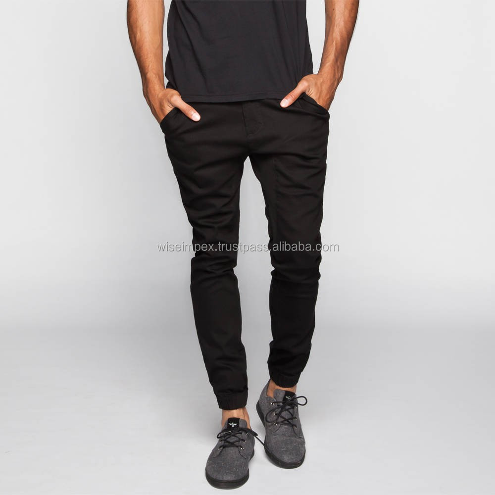 Black color Jogger Pants in high quality
