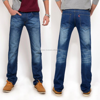 Custom distressed panelling slim cut classic retro chic popular high rank 2015 new style fashion men jeans