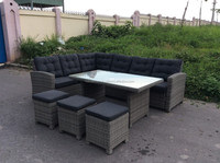 WICKER SOFA SET/ POLY RATTAN SOFA SET/ POLY RATTAN FURNITURE