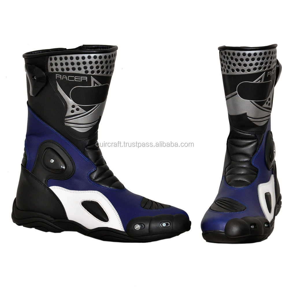 TOP Quality Motorcycle Leather Boot