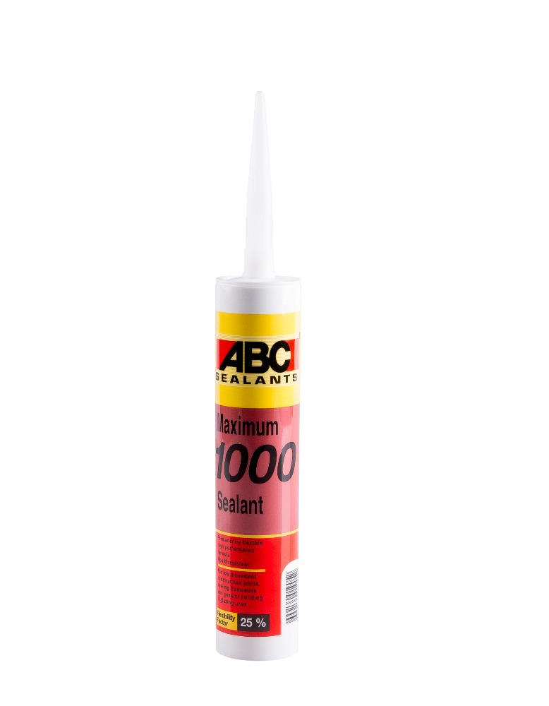 ABC CLEAR CAULK ADHESIVE