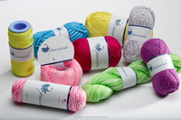 Double Gassed Mercerized KNITTING YARN