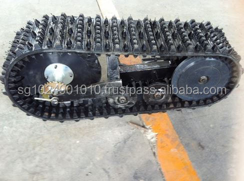 off-road vehicle rubber crawler/rubber track