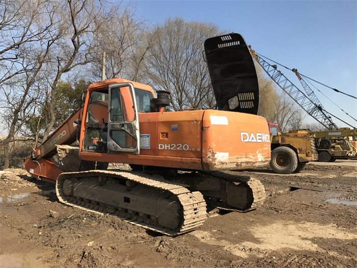 Hydraulic Original Pump DH220LC-V 220 Daewoo Used Koare Excavator For Sale