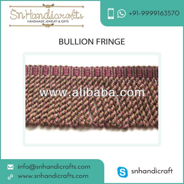 Best Made Bullion Fringe Curtain Fringe With Top Grade Quality