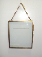 Glass Hanging Picture Frame