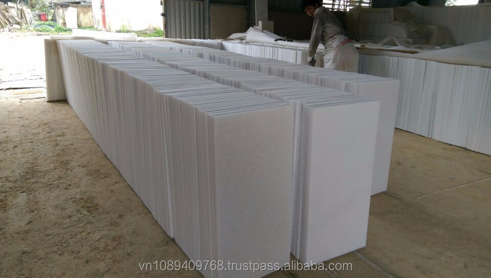 High Quality Snow Pure White Marble Stone