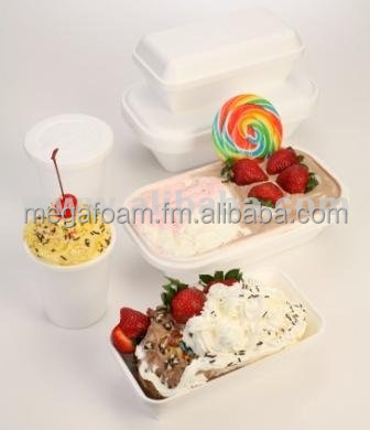 Ice-cream, Gelato box/ tub with removable plastic lining and cover