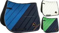 Horse Cotton Two Tone Saddle Pads / Horse Riding Quilted Saddle Pads / All Round Horse Colors Saddle Pads