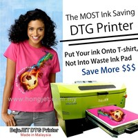 "DTG Printer ,12"" Direct to T-shirt Printing Machine (CMYK White)"