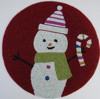 Indian glass beaded placemats embroided Iceman placemat np501