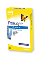 Free Style Lite Optium Test Strip 100`s