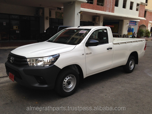 RHD Toyota Hilux Revo 2.4L, 2016 model (0 Kms), Turbo diesel, 4x2,Single cab, Manual