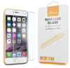 Premium HD tempered glass anti-scratch shatter proof for iPhone 6 6s Plus 5.5 inch fingerprint resistant roocase (clear)