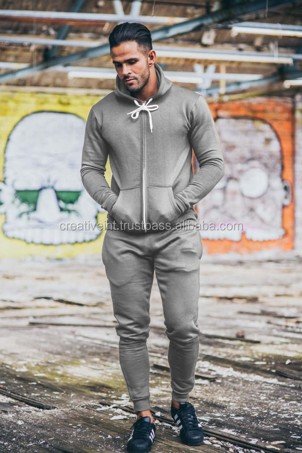 Essentials Cotton Fleece sweatsuits/New fleece jogging suits for men/Get custom design Cheap Young Man tracksuits