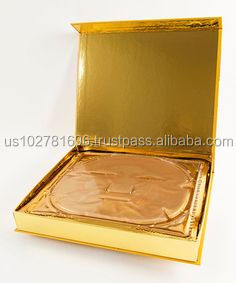 24K Gold Facial Treatment Mask 12 IN 1 Box NEW