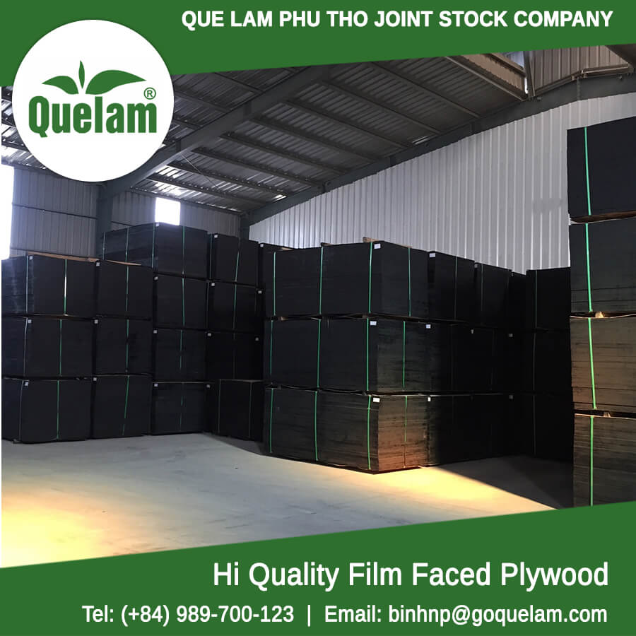 Film faced plywood from Que Lam Phu Tho (since 1993)