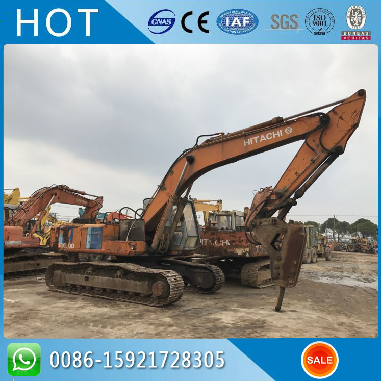 Hitachi Pump Cheap Used Excavator EX200-1 With Original Color , 20 Ton Japan
