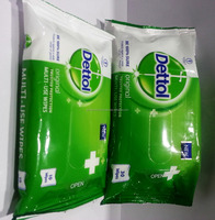 DETTOL MULTI-USE WIPES 10's & 30's FOR BABY & FEMALE