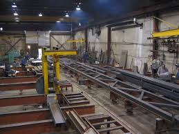 Support Steel Structure Fabrication
