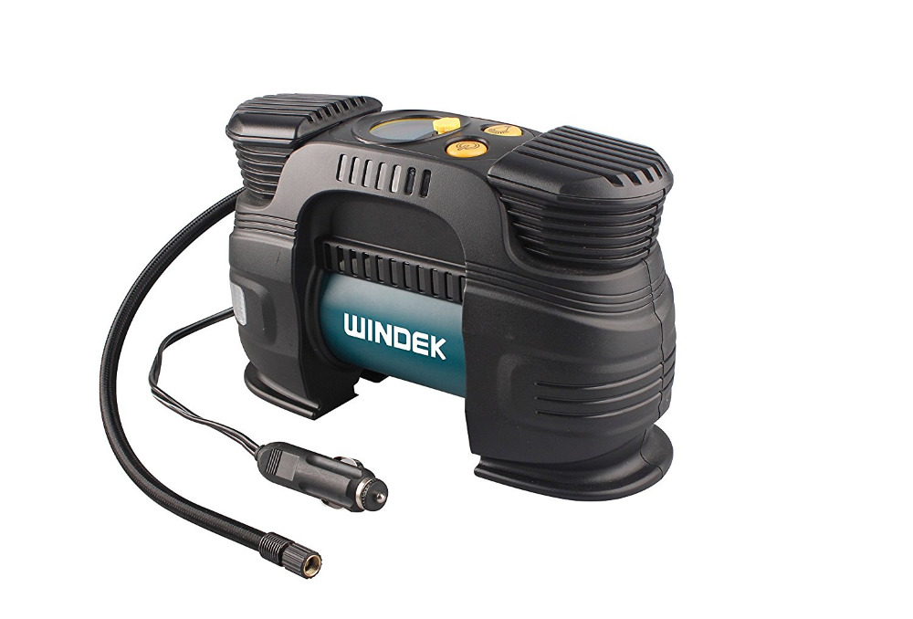 Windek RCP-B57A Rapid Digital Automatic Tire Inflator Double Cylinder, 12V, Pump Compressor