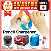 Award-winning functional pencil sharpener as new innovative stationery product