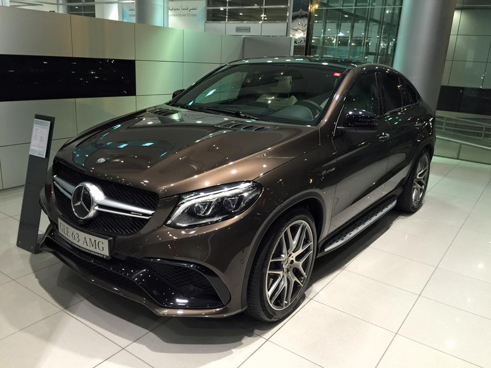 mercedes GLE 63 Coupe