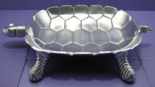 decorative Tortoise Shape Stylish aluminium salad Bowl
