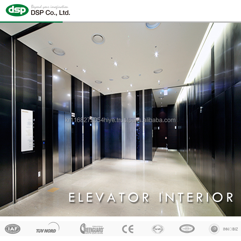 Elevaor Hall Design for Color Stainless Steel